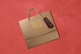 ON Portfolio - Pistis shopping bag