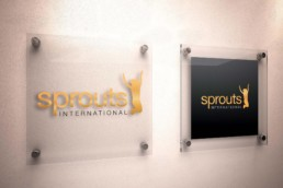 Sprouts International Signage
