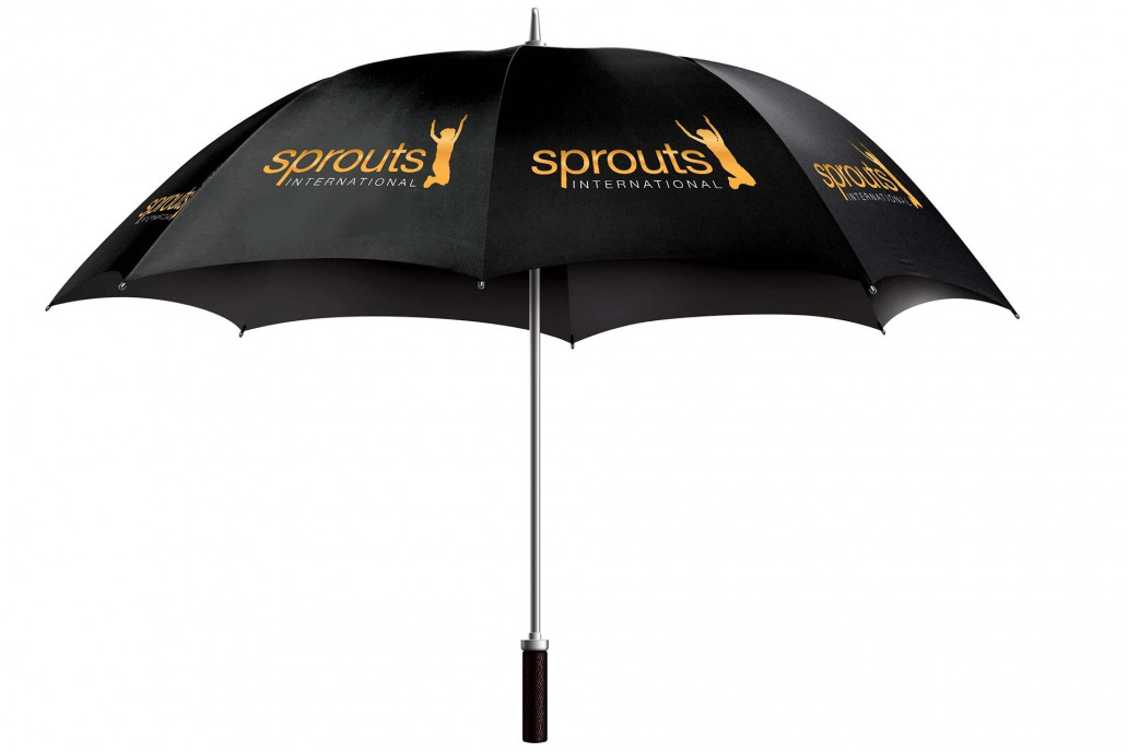 Sprouts International Branded umbrella